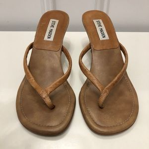 Steve Madden Gumdrop Slide Leather Sandals